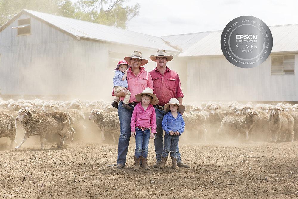 Kim Storey - Family Section - Silver Award