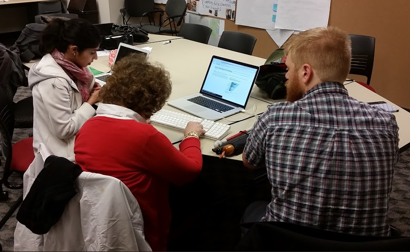 Photo Taken from a Usability Session