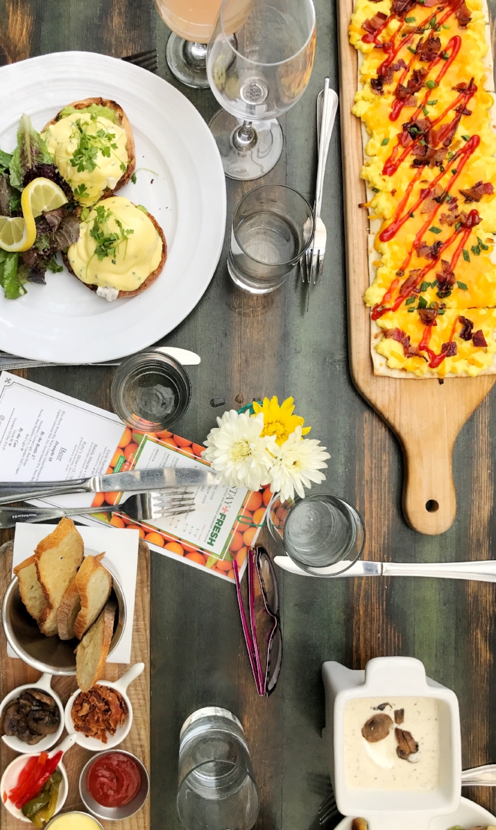 Brunch at Hotel Chantelle in the Lower East Side