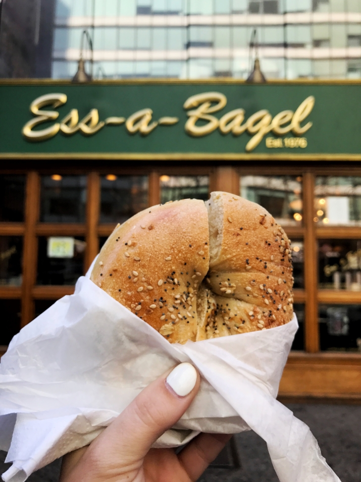 The best bagels in NYC at Ess-a-Bagel