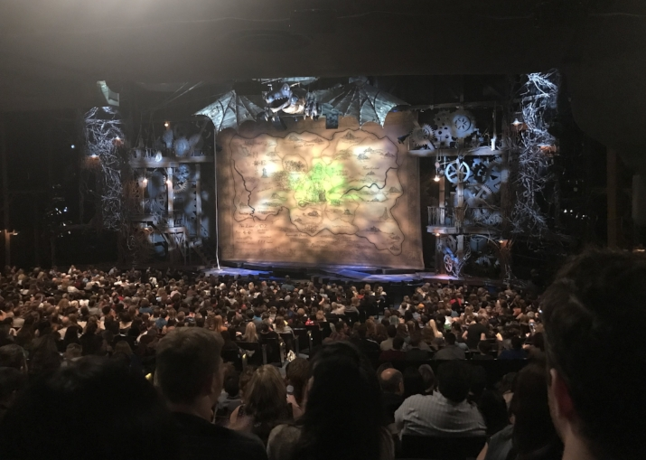 My dad's all time favorite movie is The Wizard of Oz, so we had to see Wicked!