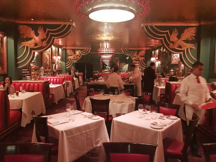 The Russian Tea Room, which had fabulous food