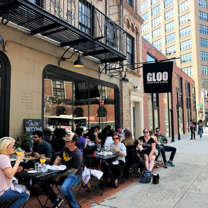 Brunch at GLOO - found in the west village