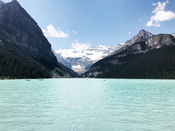 Lake Louise in Banff National Park - Alberta, Canada
