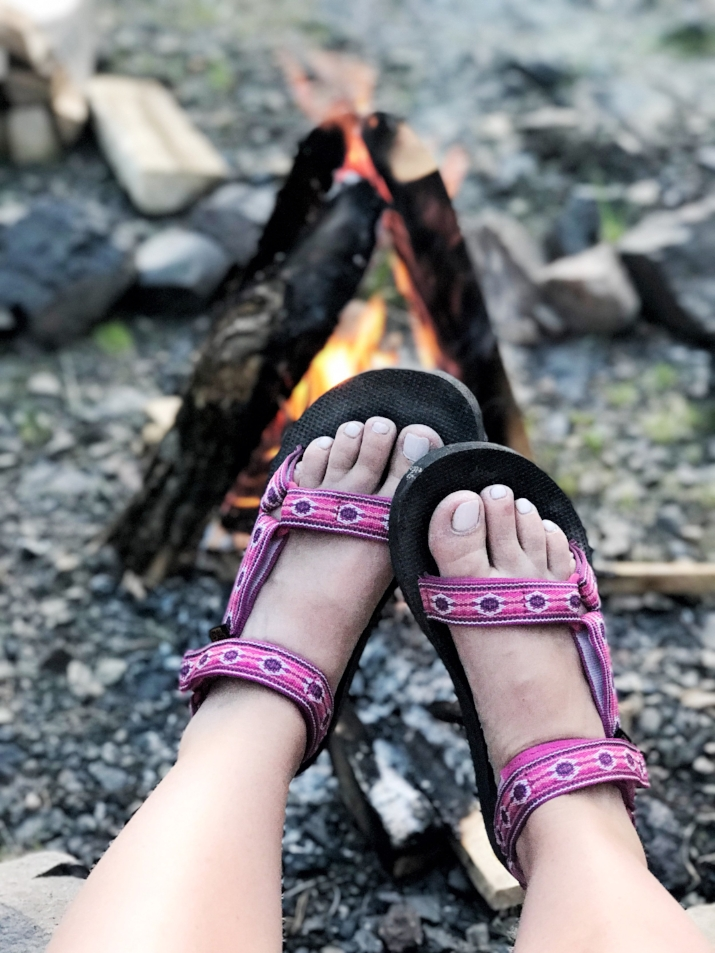 Ok maybe these Tevas were the best purchase for the trip!