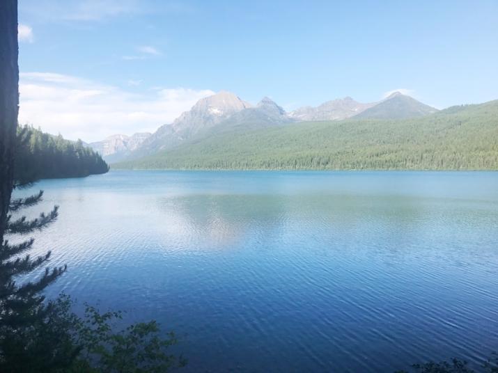 Bowman Lake, Glacier National Park - Montana, US