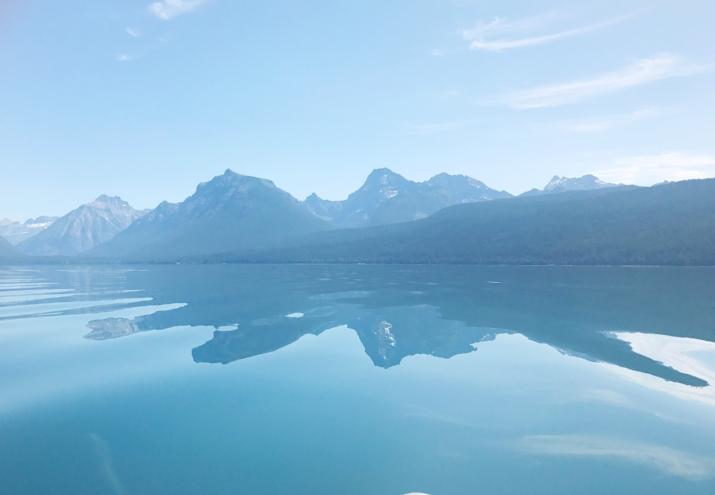 The GORGEOUS Lake McDonald at Glacier National Park - Montana, US