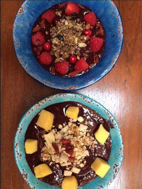 SMOOTHIE BOWLS...MMM.... -