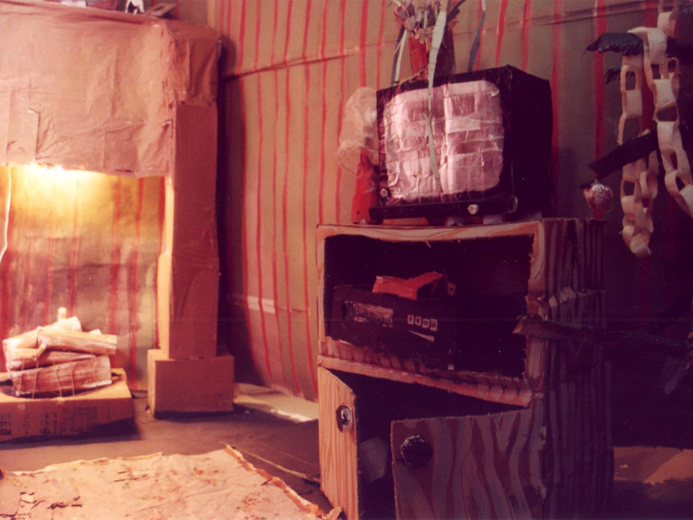 2002- minus monsters...- (living room)to scale cardboard scenes and props for destruction in a demolition party, mandurah performing arts centre. perth international arts festival.jpg