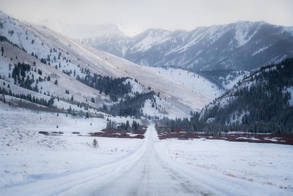 Sun Valley winter