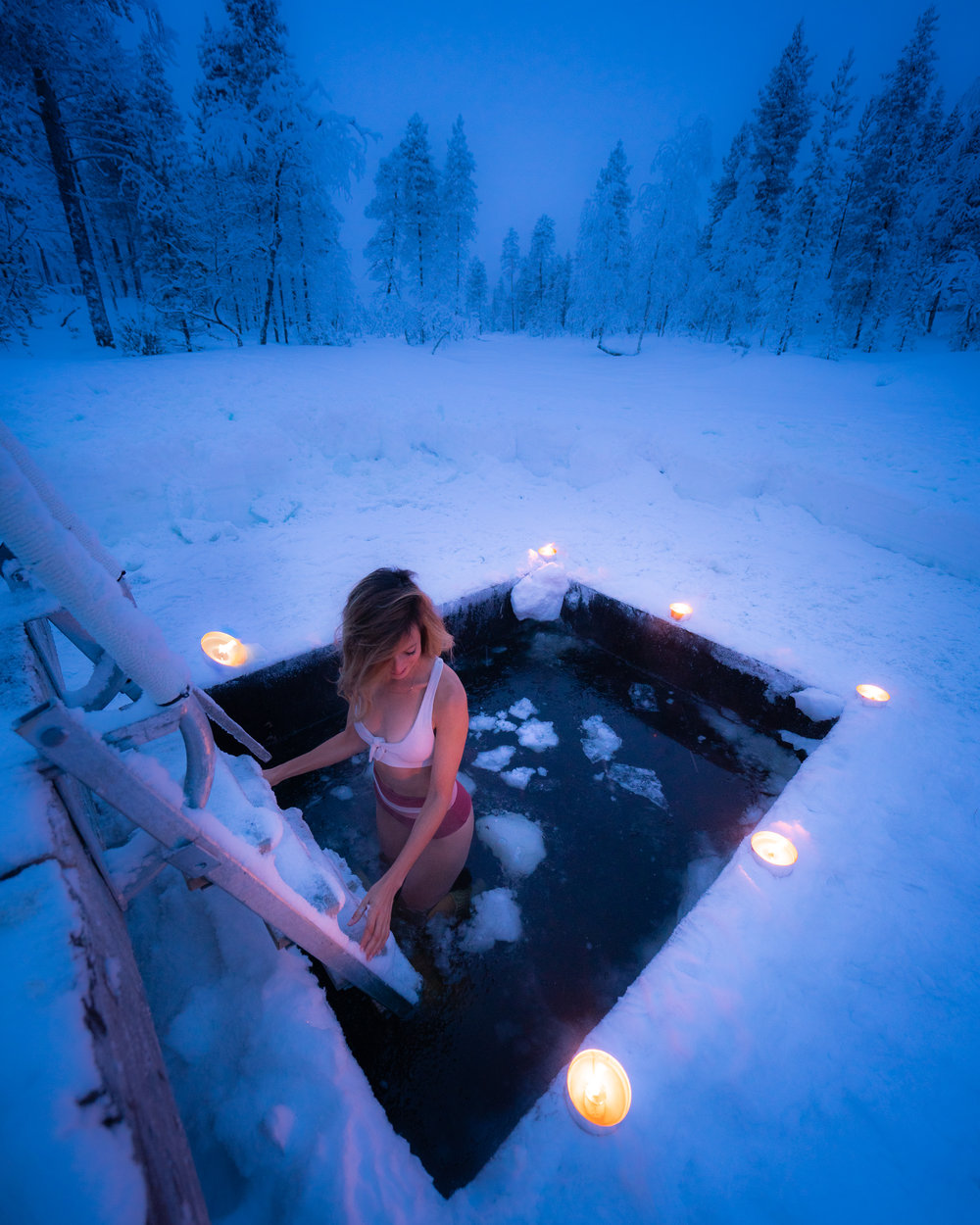 polar plung Finland