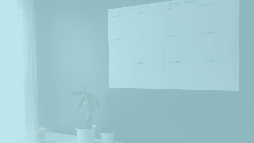 Shop - Minimalist Wall Planners + Calendars