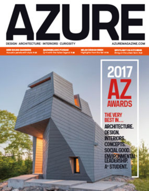 AZURE Magagazine Cover - JUL/AUG 2017