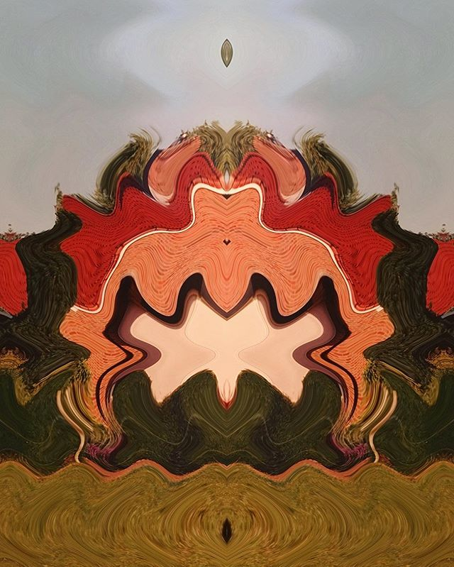 Crowning American Stucco Ajna Crysalis #digitalart
