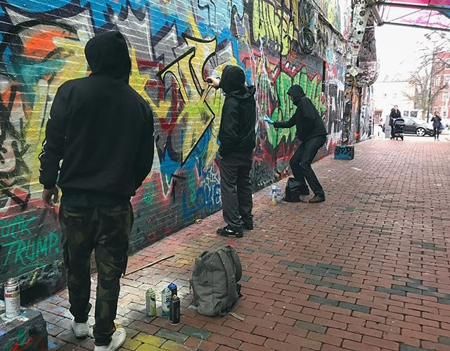 Some updates to Graffiti Alley