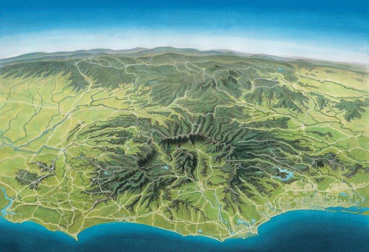 mt warning caldera raw guy s surfari maps