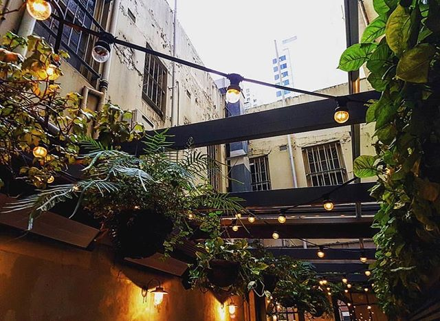 Our upstairs terrace is the perfect hideaway in the CBD. 📸 by @meegss_