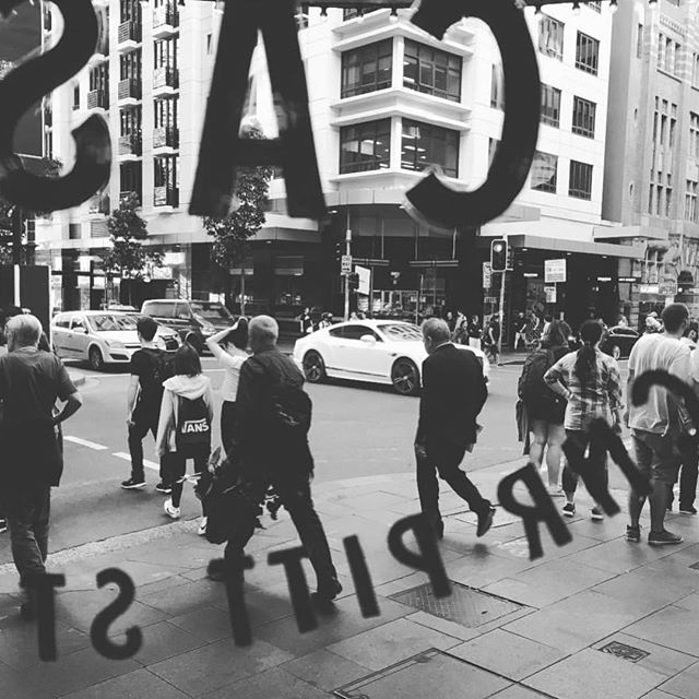 People watching on Pitt Street. 📸 @bact