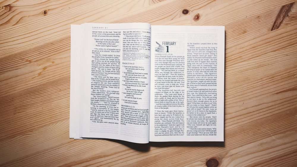 Three suggestions when reading your One Year Bible