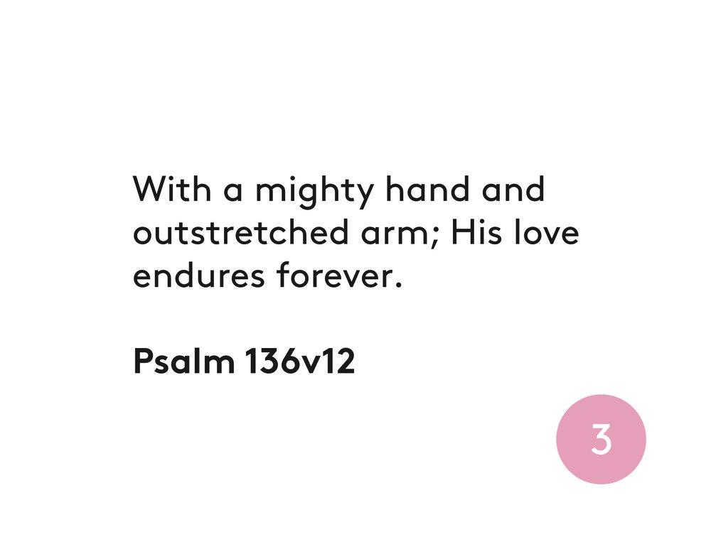 Psalm 136v12
