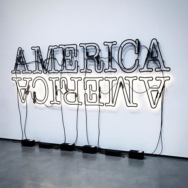The real upside down. . . #america #upsidedown #strangerthings #thebroad #losangeles #graphicdesign #graphicdesigner #neonsigns #creatives #fridayfeels #firstvisit