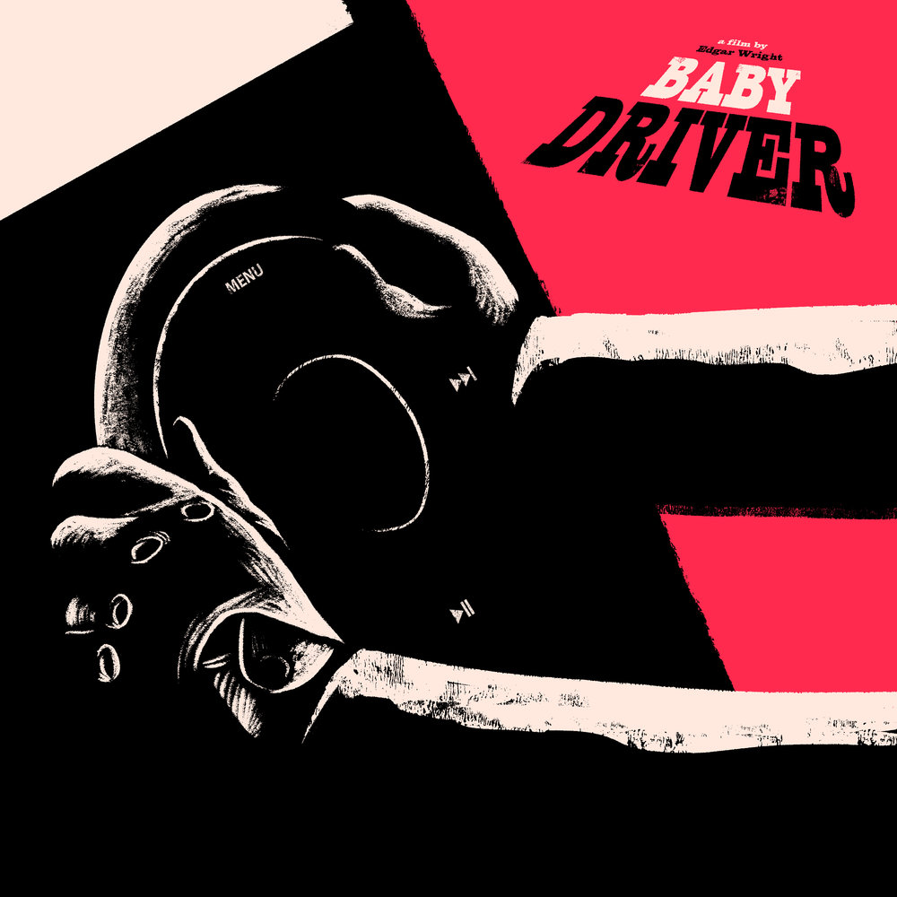 Baby Driver Blu-ray promotion