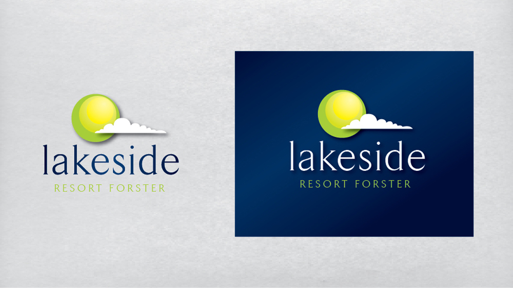 Lakeside Resort Logo Design