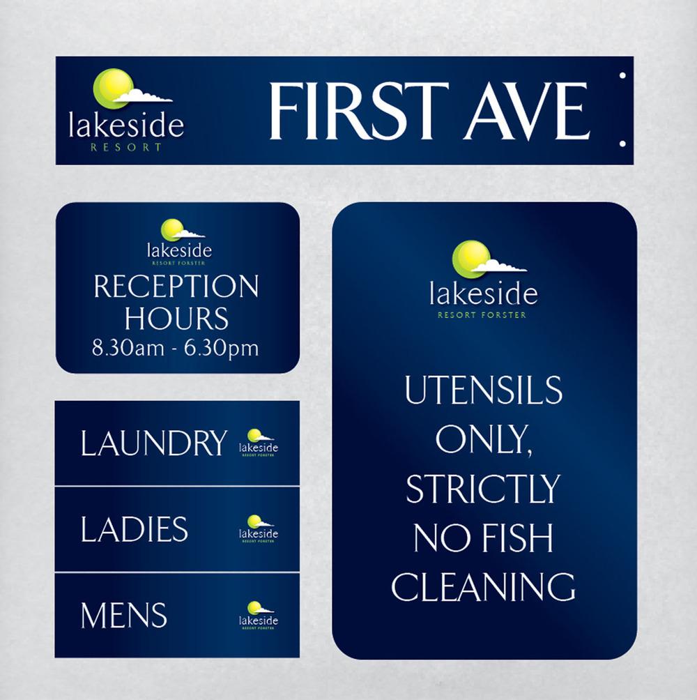 Lakeside Signage 2
