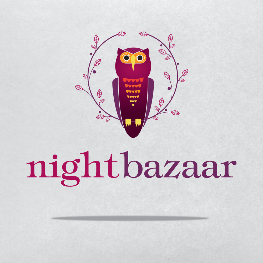 Night Bazaar Logo Design