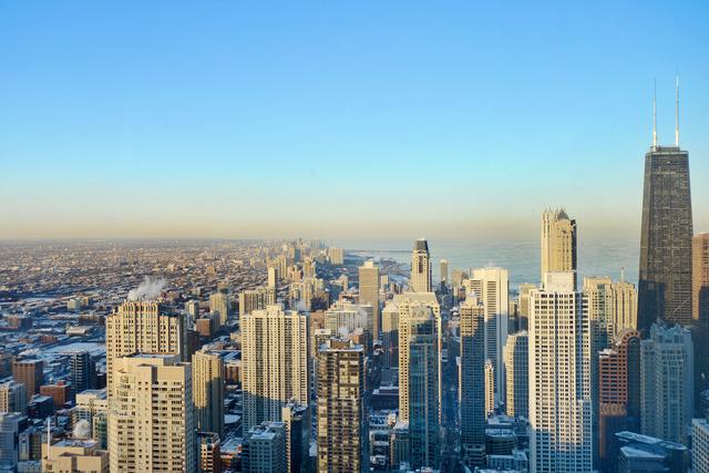 Trump-Tower-Chicago-Skyline