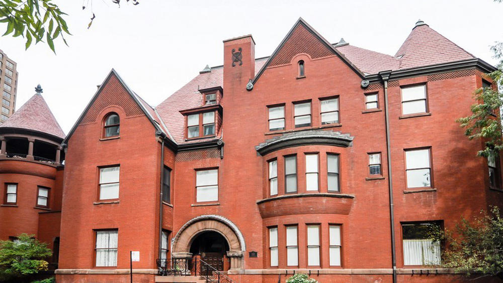 A seven-bedroom, 10,000-square-foot red-brick, Romanesque Revival mansion on Astor Street in the Gold Coast neighborhood sold Thursday for $4 million