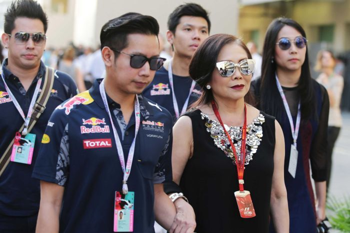 Red Bull family in Thailand
