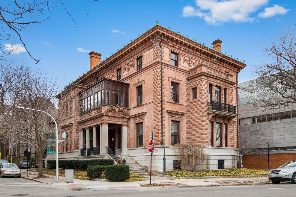The home, located in Chicago's Lincoln Park neighborhood, was built in 1896.  PARKVUE REALTY