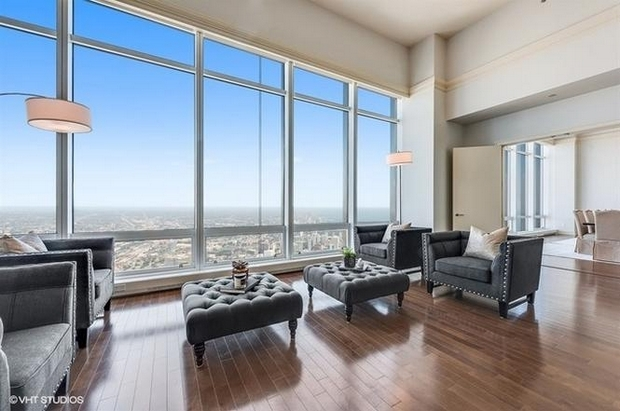This Trump Tower condo sold yesterday for $7.7 million.