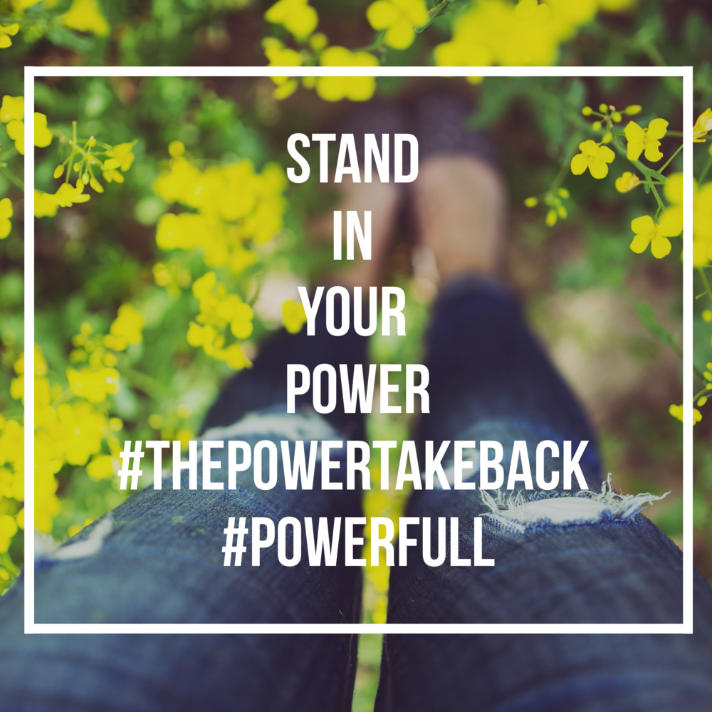 Standing in your power is not synonymous with stepping on someone's toes.  If someone in your world makes you feel bad for owning your voice, ideas and presence--you may need to reevaluate your relationship. We all thrive when we stand in our power--including with our peeps!  The motto is: I shine, You shine.Start to notice the light dimmers in your life and sort them out . Here's to light and living life on your terms--and in your power.