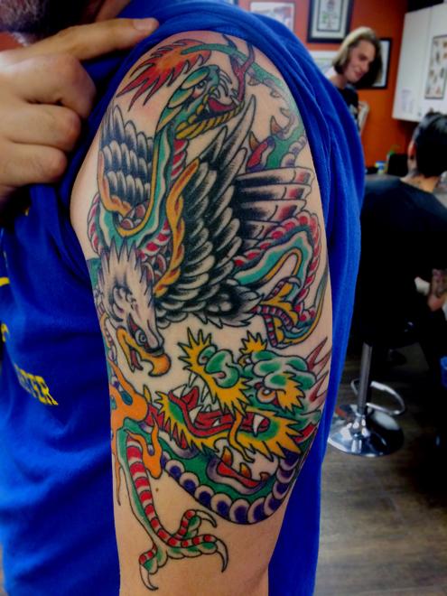 Los Angeles Custom Tattoos Royale Ny Tattoos By James