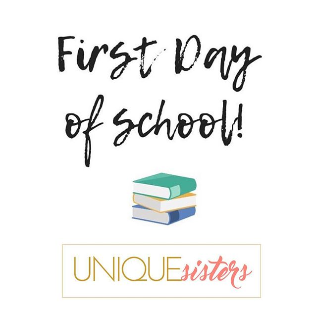 Today is the FIRST DAY OF SCHOOL for many of our girls! We are so proud and excited for this academic school year for you all!! LETS ROCK OIT THIS YEAR WITH GREAT SUCCESS!! #myuniquesisters #sisterhood #mentorship #iammyown #reachfortheworld