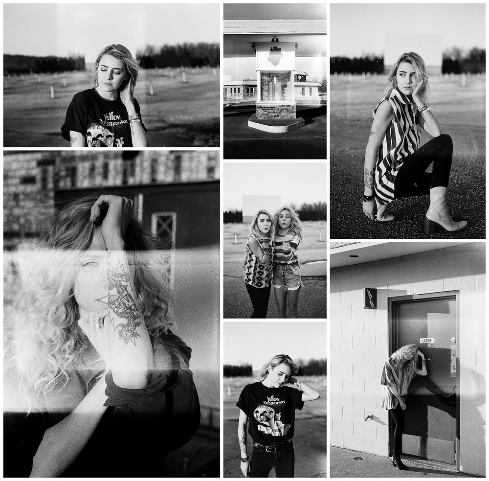 Shot on35mm black & white Tri-X 400 film
