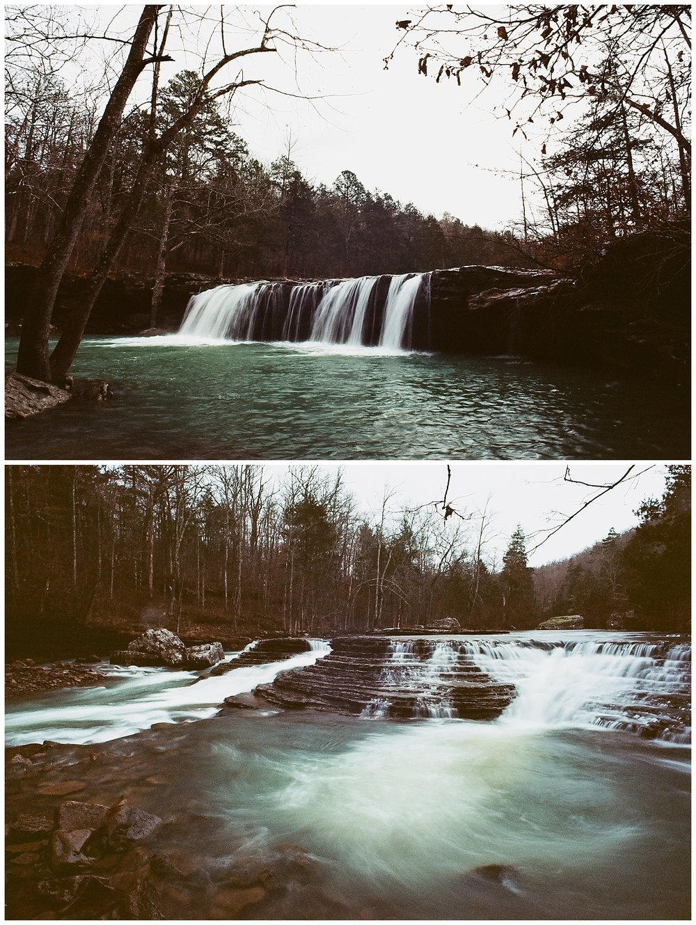 Falling Water Falls & Six Finger Falls on Ektar 100 +1