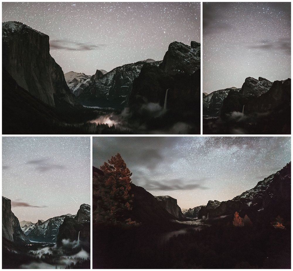 4AM at Tunnel View