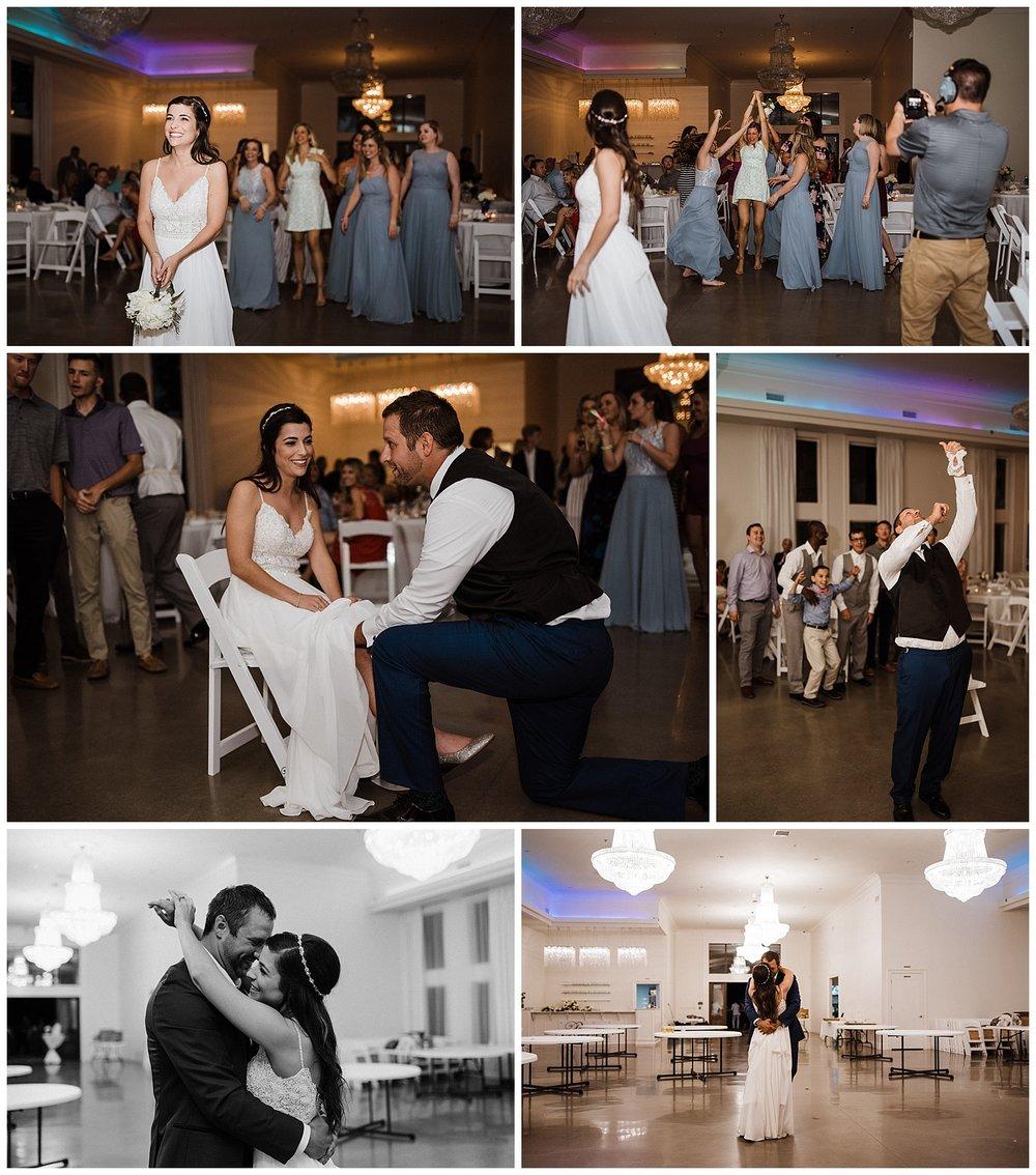 reception traditions cathryn & matt summer wedding