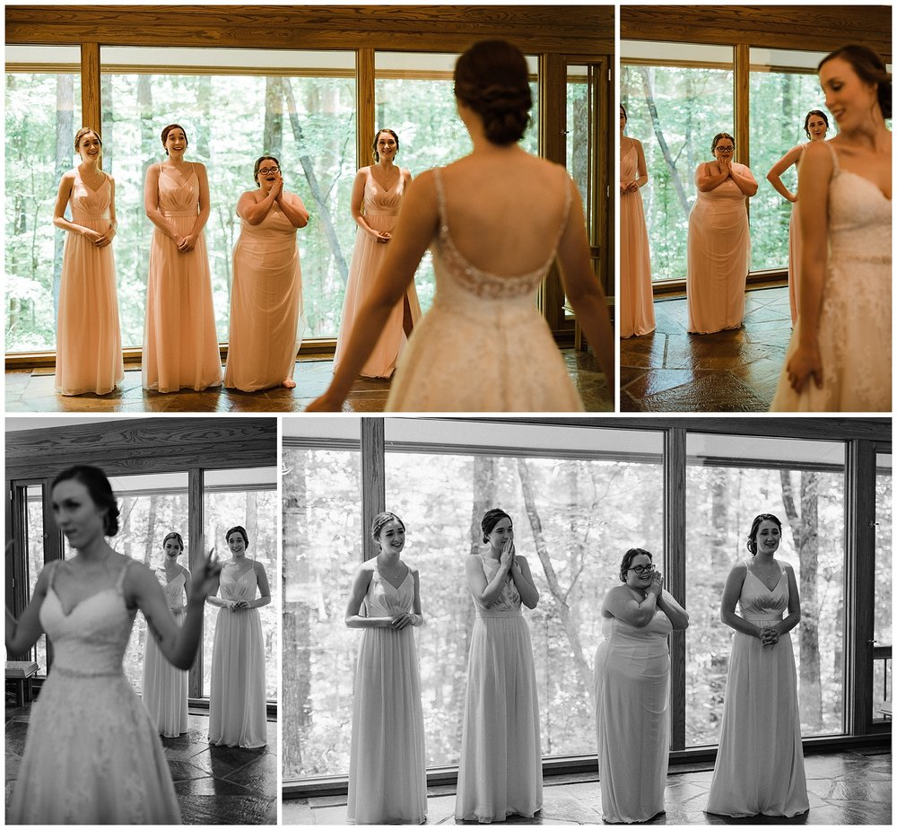 Garvan Gardens Bridesmaid First Look