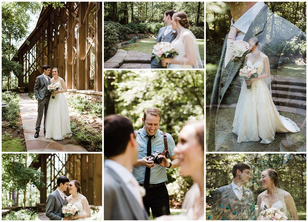 Anthony Chapel Wedding Portraits Garvan Woodland Gardens