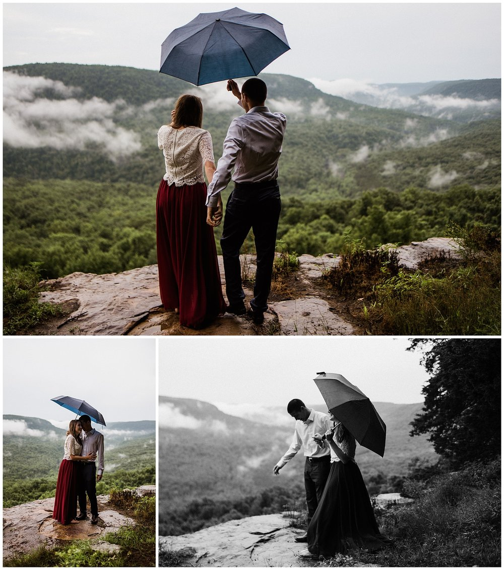 Misty Mountain Adventure Engagements by Tanner Burge