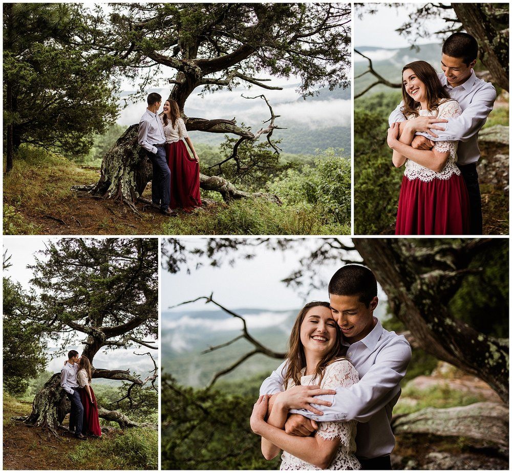 Misty Mountain Adventure Engagements by Tanner Burge 4