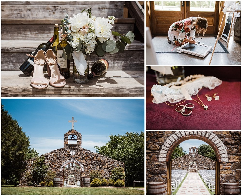 Megan & Blake Vineyard Wedding Details - Tanner Burge Photography