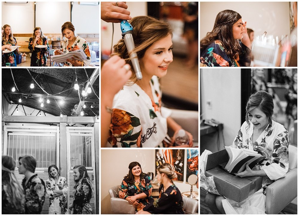Tanner Burge Photography - Megan & bridesmaids getting ready