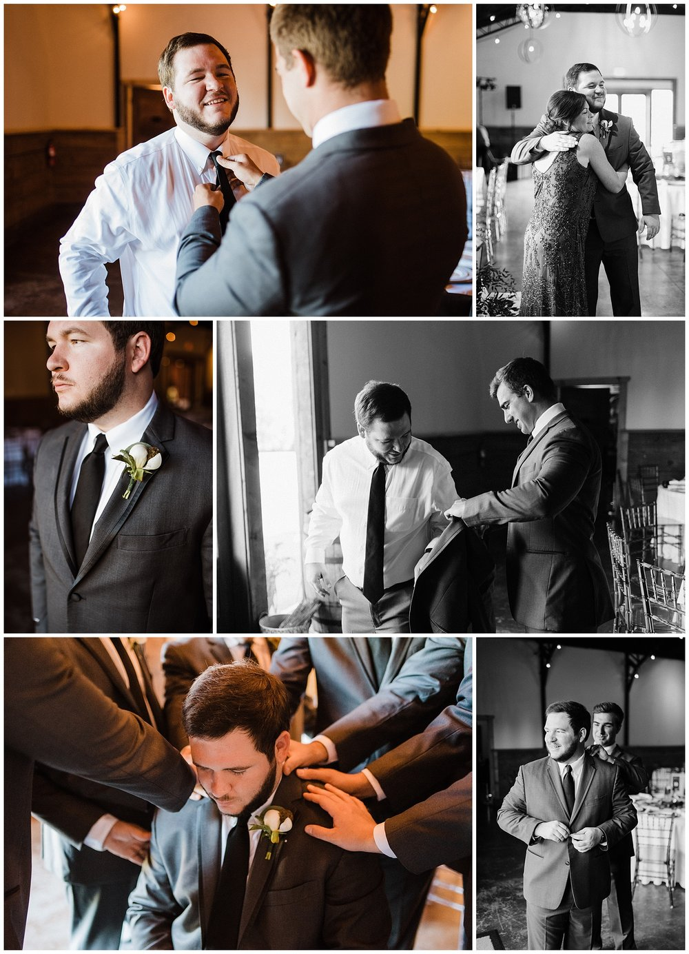 Tanner Burge Photo - Blake, Groom, getting ready