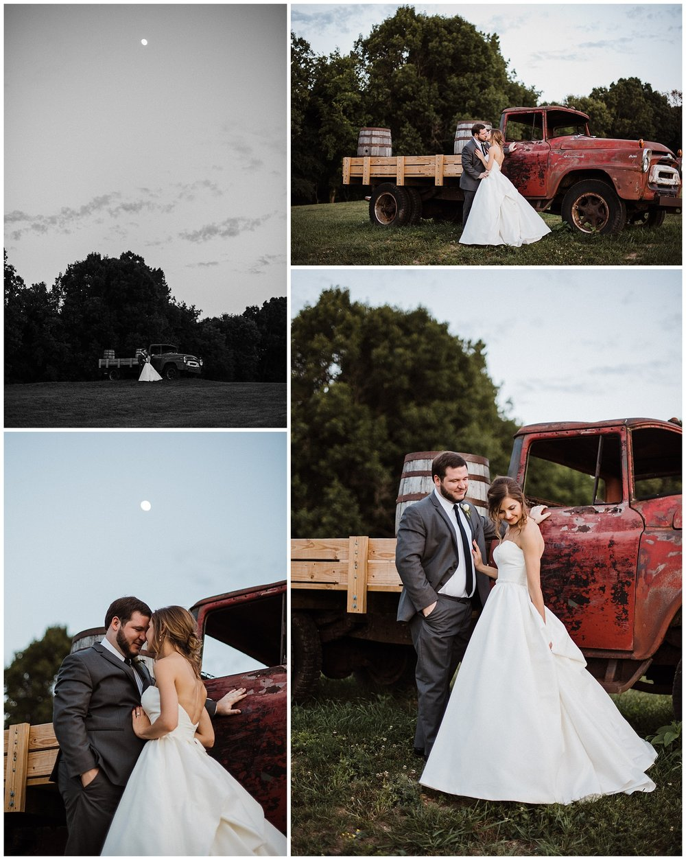 Tanner Burge Photo - Twilight photos with Bride & Groom at Sassafras