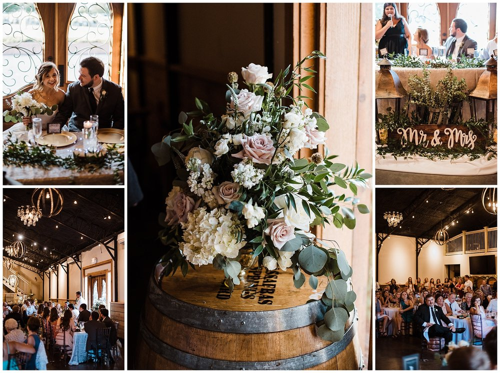 Tanner Burge Photo - Megan & Blake wedding reception at Sassafras
